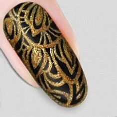 гель-арабеска золото nika nagel 5 мл