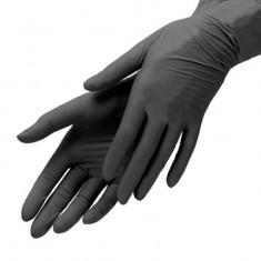 перчатки nitrimax нитриловые неопудренные черные l 100шт ARCHDALE