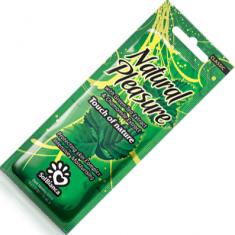 Sol bianca natural pleasure крем для загара c экстрактом зеленого чая и ромашки 15 мл.