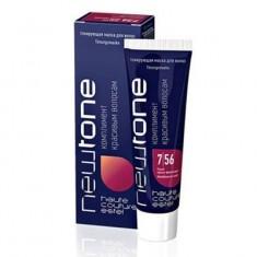 тонирующая маска для волос estel newtone 7/56 русый красно-фиолетовый 60 мл Estel Professional