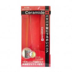 расческа для увлажнения и смягчения волос с церамидами складная vess ceramide brush