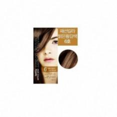 Краска для волос на фруктовой основе Welcos Fruits Wax Pearl Hair Color #06 60мл*60гр