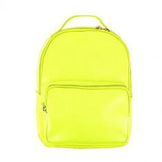 Рюкзак LADY PINK желтый неон