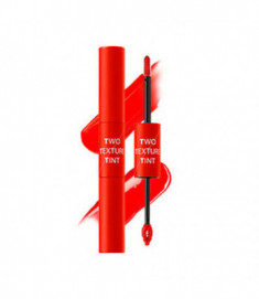 Тинт для губ двойной THE SAEM Two Texture Tint OR01 Split Orange 8гр