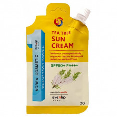 крем для лица солнцезащитный eyenlip tea tree sun cream spf50+/pa +++