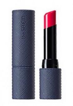 Помада для губ THE SAEM Kissholic Lipstick Leather Glow PK01 Love Haze 3,7г