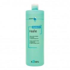 Восстанавливающий шампунь для поврежденных волос Purify-Reale Kaaral