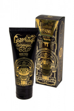 Маска-пленка золотая Elizavecca Hell Pore Longolongo Gronique Gold Mask Pack 100мл
