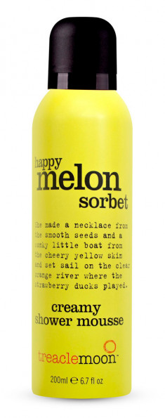 TREACLEMOON Мусс для душа Дынный сорбет / Happy melon sorbet shower mousse 200 мл