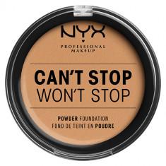 Крем-пудра для лица NYX PROFESSIONAL MAKEUP CANT STOP WONT STOP компактная тон Soft beige