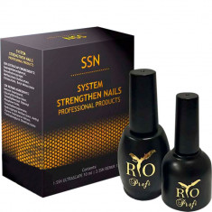 SSN Двухфазное средство для восстановления ногтей 2в1 Rio Profi
