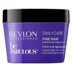 Revlon Professional Be Fabulous C.R.E.A.M. Mask For Fine Hair - Маска для тонких волос, 250 мл