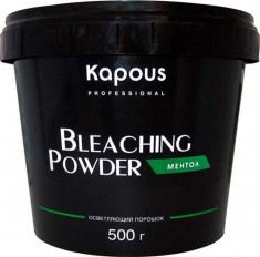 Осветляющий порошок для волос Bleaching Powder Menthol Kapous Professional