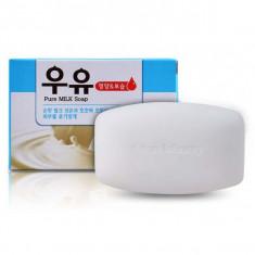 мыло молочное  mukunghwa pure milk soap