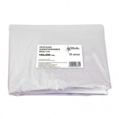 White line, Простыня полиэтиленовая 160x200 см, 20 шт.