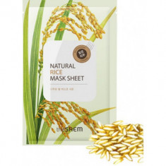 Маска тканевая с экстрактом риса The Saem Natural Rice Mask Sheet 21мл