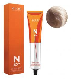 OLLIN PROFESSIONAL 9/72 крем-краска перманентная для волос, блондин коричнево-фиолетовый / N-JOY 100 мл