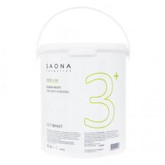 Saona Cosmetics, Сахарная паста для депиляции Soft&Fast, мягкая, 3500 г