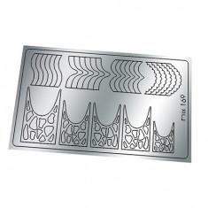 Freedecor, Металлизированные наклейки №169, серебро
