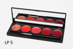 Палитра помад 5 оттенков (5 Lip Palette) MAKE-UP-SECRET LP5