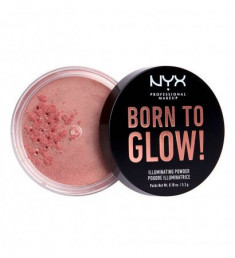 NYX PROFESSIONAL MAKEUP Невесомая пудра-хайлайтер для лица и тела Born To Glow Illuminating Powder - Eternal Glow