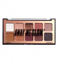 NYX PROFESSIONAL MAKEUP Тени для век Away We Glow Shadow Palette  - Love Beam 01