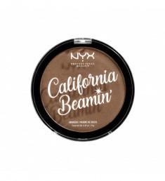 NYX PROFESSIONAL MAKEUP Бронзирующая пудра для лица и тела California Beamin' Face & Body Bronzer - Golden State