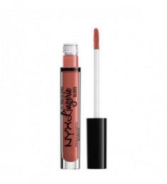 NYX PROFESSIONAL MAKEUP Блеск для губ Lip Lingerie Gloss - Bare With Me 03