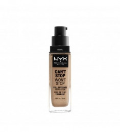 NYX PROFESSIONAL MAKEUP Тональная основа Can't Stop Won't Stop Full Coverage Foundation - Medium Buff 105