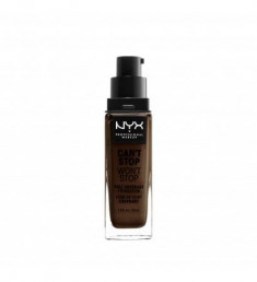 NYX PROFESSIONAL MAKEUP Тональная основа Can't Stop Won't Stop Full Coverage Foundation Deep Ebony 45