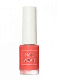 Лак для ногтей THE SAEM Nail wear 99. Grapefruit Coral 7мл