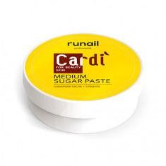 ruNail, Сахарная паста Cardi, средняя, 150 г