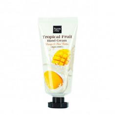 FarmStay Крем для рук Тропические фрукты с маслом манго и маслом ши 50мл Farm Stay