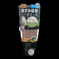 BCL Крем-скраб для лица с вулканической глиной, каолином и коричневым сахаром / TSURURI 150 г