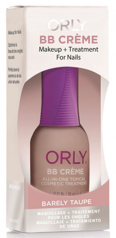 ORLY Средство для маскировки несовершенств ногтей / BB Creme Barely Taupe 18 мл