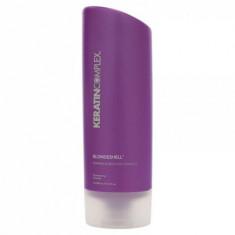 Шампунь корректирующий для осветленных и седых волос Keratin Complex Blondeshell Debrass & Brighten Shampoo 400мл