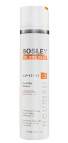 Шампунь питательный для истонченных окрашенных волос Bosley Bos Revive Step 1 Nourishing Shampoo Visibly Thinning Color-Treated Hair 300мл