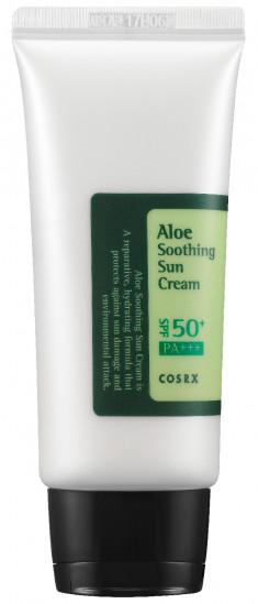 COSRX Средство солнцезащитное с алоэ для лица SPF 50 PA+++ / Aloe Soothing Sun Cream 50 мл