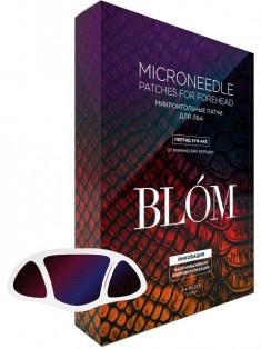 BLOM Патчи с пептидом от мимических морщин для лба SYN-AKE, 4 пары BLÓM