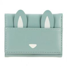 Кошелек LADY PINK голубой с ушками