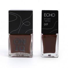 ONIQ, Лак для стемпинга Echo, Sticky Toffee