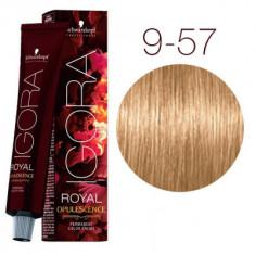 Крем-краска Schwarzkopf professional Igora Royal Opulescence 9-57 блондин золотистый медный 60 мл