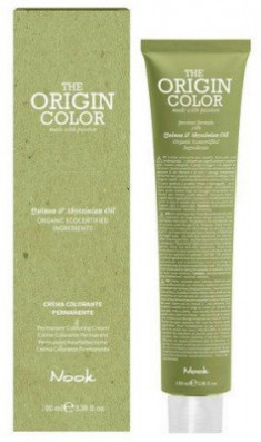 Краска для волос NOOK Origin Color Cream 33.0 Интенсивный Натуральный Темный Шатен 100 мл