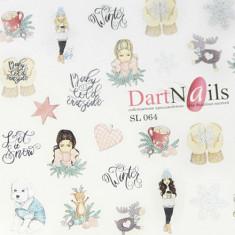 DartNails, Слайдер-дизайн Art-Fashion №64