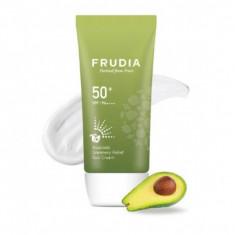 солнезащитный восстанавливающий крем с авокадо frudia avocado greenery relief sun cream spf50+pa++++