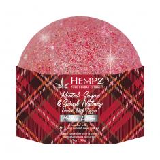 HEMPZ Шар шипучий для ванны Мятный сахар и мускат / Le Minted Sugar & Spiced Nutmeg Bath Fizzer 200 мл