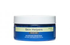 GLORIA Крем-маска питательная для сухой кожи с компонентами NMF и маслом оливы / Botanix Skin Helpers 200 мл