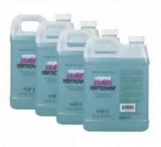 Жидкость для снятия лака с экстрактом алоэ для натуральных ногтей O.P.I 4*960 мл OPI