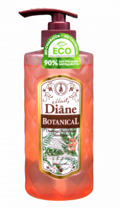 Шампунь Восстанавливающий без сульфатов и силикона Moist Diane Botanical Repair 480 мл