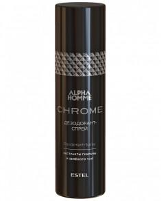 ESTEL PROFESSIONAL Дезодорант-спрей мужской / ALPHA HOMME CHROME 100 мл